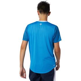 New Balance Printed Fast Flight Short Sleeve Men helium heather blue